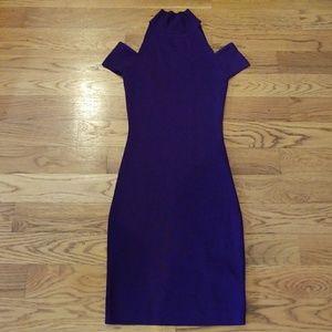 NWOT~purple dress